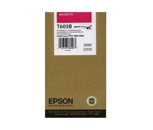 Tintenpatrone Magenta 220ml für Epson Stylus Pro 7800/9800