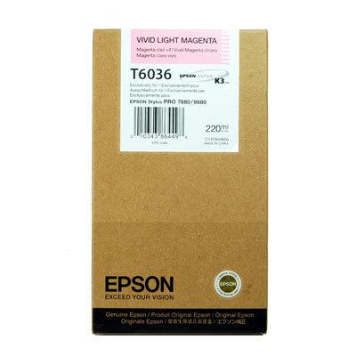 Tintenpatrone Light Vivid Light Magenta 220ml für Epson Stylus Pro 7880/9880