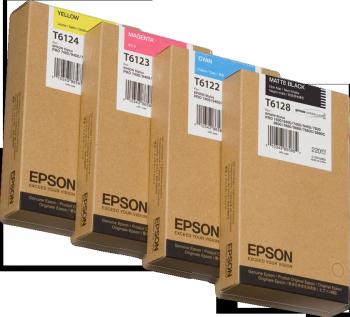 Tintenpatrone Magenta 220ml für Epson Stylus Pro 7400/7450/9400/9450