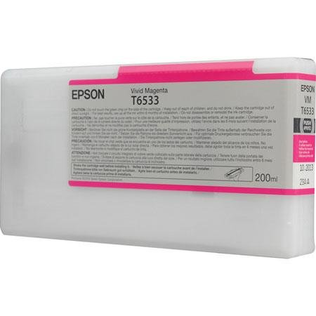 Tintenpatrone Vivid Magenta 200ml für Epson Stylus Pro 4900