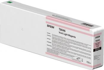 Tintenpatrone Vivid Light Magenta 700ml für Epson SureColor SC-P6000/P7000/P8000