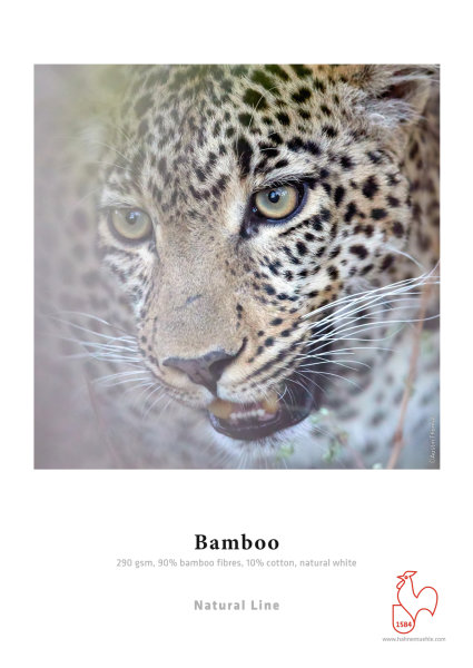 Hahnemühle Bamboo 90% Bambusfaser, 10% Baumwolle 0,610x12m 290gsm 1 Rolle 3 Zoll