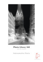 Hahnemühle Photo Glossy 260  DIN A2 260gsm 25 Blatt