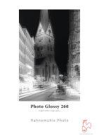 Hahnemühle Photo Glossy 260  DIN A3+ 260gsm 25 Blatt