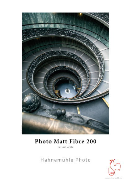 Hahnemühle Photo Matt Fibre 200  DIN A4 200gsm 25 Blatt