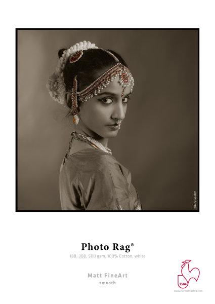 Hahnemühle Photo Rag® 188 gsm, 100% Cotton, white DIN A2 188gsm 25 Blatt