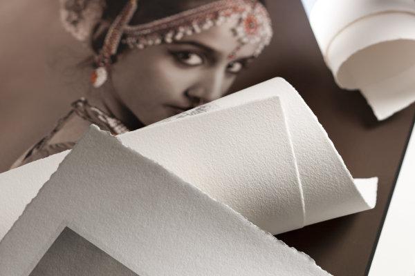 Hahnemühle Photo Rag® 308 Deckle Edge 4-seitig gerissener Büttenrand DIN A3+ 308gsm 25 Blatt