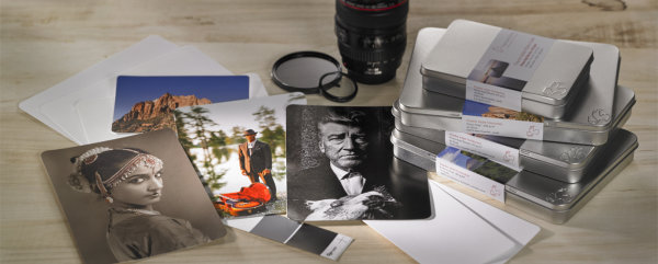 Hahnemühle Photo Rag® Baryta Photo Cards 315 gsm, 100% Cotton, white, high-gloss DIN A5 315gsm 30 Blatt