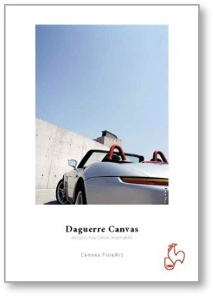 Hahnemühle Daguerre Canvas 400 gsm, Poly-Cotton, bright white 0,610x12m 400gsm 1 Rolle 2 Zoll