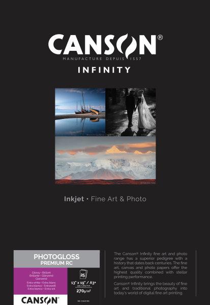 PhotoGloss Premium RC 270 A3+ 25 Blatt