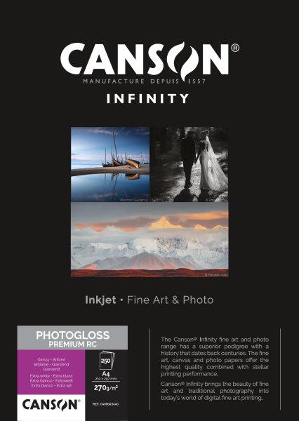 PhotoGloss Premium RC 270 A4 250 Blatt